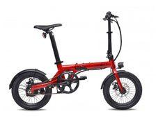 EOVOLT Vélo électrique City rouge