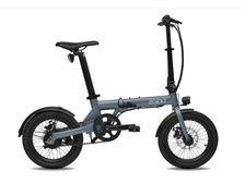"""EOVOLT Vélo électrique Sport 16"""" à courroie anthracite"""