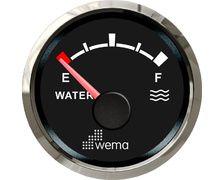 Jauge Silverline eau NMEA2000 - noir