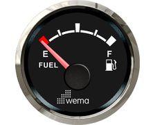Jauge Silverline carburant NMEA2000 - noir