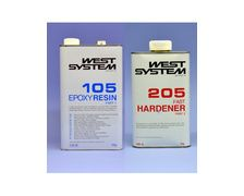 WEST SYSTEM Resine epoxy 105 + durcisseur 205 Pack B 6Kg