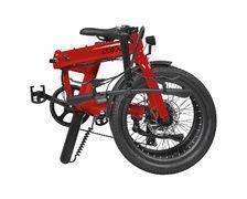 EOVOLT Vélo électrique Confort bordeaux