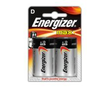 ENERGIZER Max Piles LR20 D, blister de 2