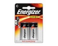 ENERGIZER Max Piles LR14 C, blister de 2