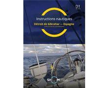 SHOM Instructions nautiques - Détroit de Gibraltar – Espagne