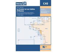 IMRAY Carte C40 Le Croisic to Les Sables d'Olonne