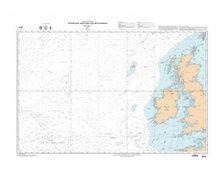 SHOM 6618L Attérage ouest des iles britaniques