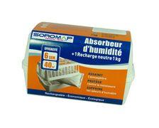 SOROMAP Recharge absorbeur d'humidité 0,8kg
