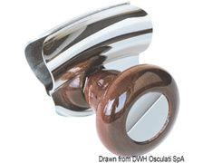 OSCULATI Poignée bois pour barre à roue