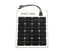 SUNPOWER Panneau solaire semi-flexible Back contact 50W
