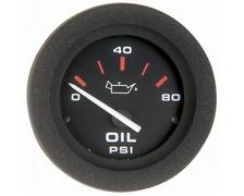 VEETHREE Amega Ø52mm manomètre huile 0 - 80 psi type US