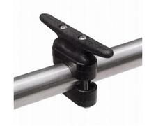 TREM Taquet de balcon ou chandelier 110mm pour tube Ø22 à 25