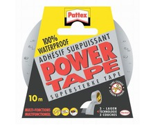 PATTEX Adhésif Power Tape gris 10m
