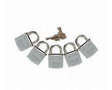IFAM Cadenas chromés M-30 mêmes clés les 5