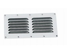 OSCULATI Grille aeration inox rectangulaire 115 x 230 mm