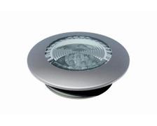 Spot encastrable à leds 12v/10w - rond - boitier blanc
