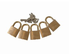 PLASTIMO Cadenas anse normale largeur 40mm lot de 5
