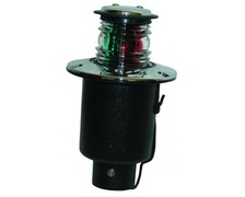 Feu bicolore pop-up boitier inox <12m