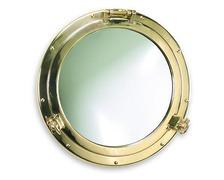 FORESTI Miroir hublot en laiton poli Ø210mm