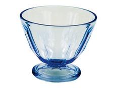 Coupe à glace bleu  Couleur Mer acrylique les 4