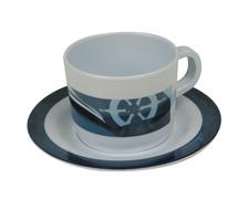 Auckland tasse café et soucoupe