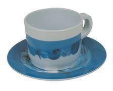 Ocean tasse café et soucoupe