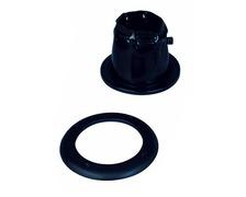 NUOVA RADE Soufflet passe cable ajustable Ø85mm noir