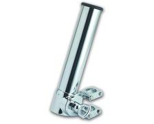 FORESTI Porte canne laiton chromé pour tube Ø22-25-30 - Ø40m