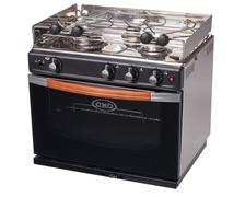 ENO Gascogne four inox - 3 feux et gril