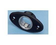 RWO Ecubier noir ovale 11mm bague vrac