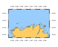 SHOM L7152 de l'Ile Grande à l'Ile de Bréhat