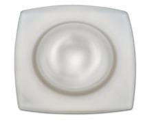 FORESTI Plafonnier carré étanche 88mm 10W blanc