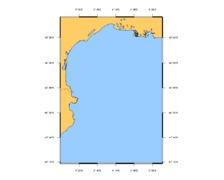 SHOM L7008 Du Cabo de San Sebastian à Fos-sur-Mer