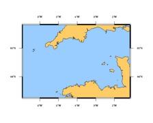 SHOM L7311 Manche Ouest Iles Scilly et Ouessant aux Casquets