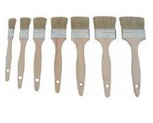Pinceau pure soie manche bois Largeur 40 mm