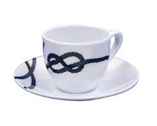 COULEUR MER Tasse café et soucoupe South Pacific
