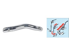 OSCULATI Jonction d'ancre inox courbe articulée pour chaine