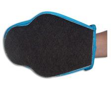 Tissus fibre noir pour décapage les 2