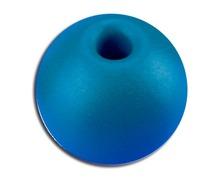 Boule d'arrêt de drisse 17mm/5mm bleu les 5