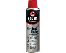 WD40 Lubrifiant chaines & cables aerosol 250ml