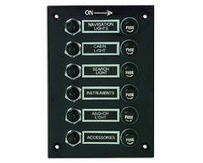 Tableau électrique 6 interrupteurs