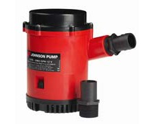 JOHNSON Pompe de cale grand débit L2200 120L/min 12V