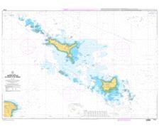 SHOM L7143 abords des Iles de Houat et de Hoëdic