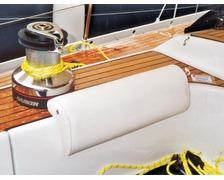 BEDFLEX Coussin pour plat-bord blanc
