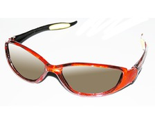 Lunettes speed orange translucide