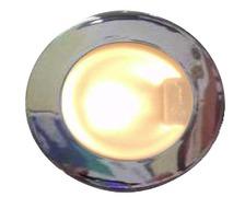 MANTAGUA Spot OUESSANT argent mat à LED 10W blanc chaud