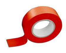 SCAPA Adhesif isolant 19mm rouge