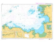 SHOM L7124 de la Baie de Lannion - la Pointe de Primel à l'î