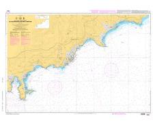 SHOM L7442 de Villefranche sur Mer à Menton