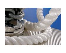 MEYER M-S 245 Cable polyamide 3 torons Ø6 blanc